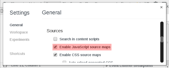 SourceMaps | Down and Dirty with Chrome Developer Tools on